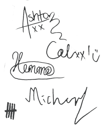 5sos transparent signature. Your board is now