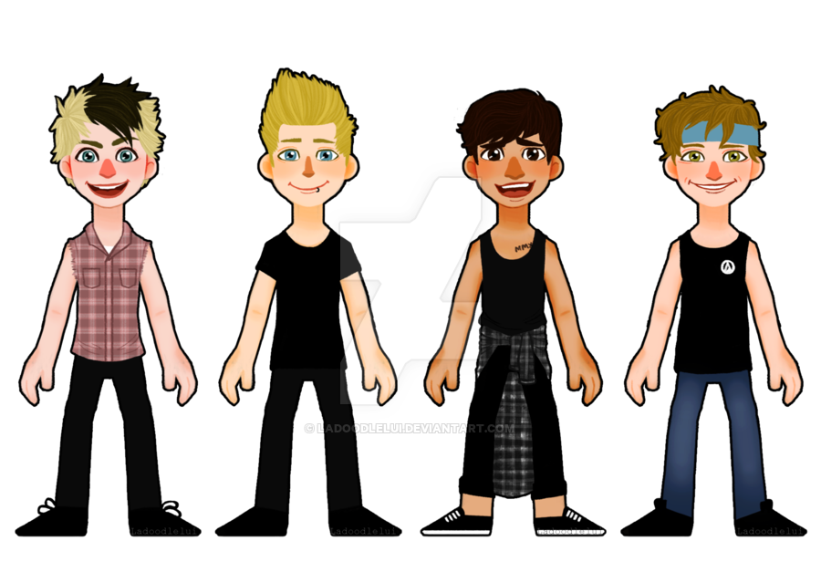 5sos transparent slsp. Sos by ladoodlelui