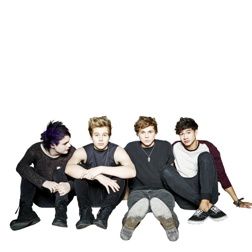 5sos transparent. I hate this band