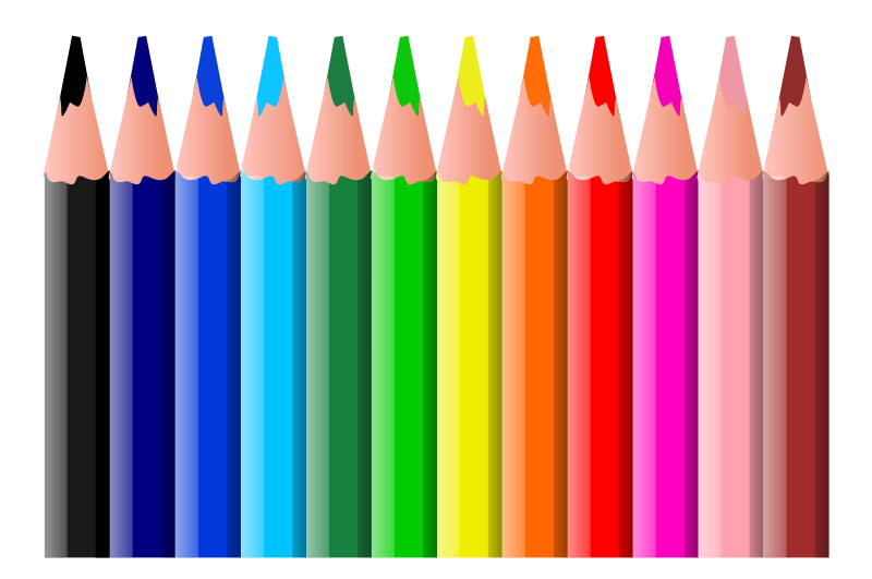 Paintbrush clipart colored pencil. At getdrawings com free