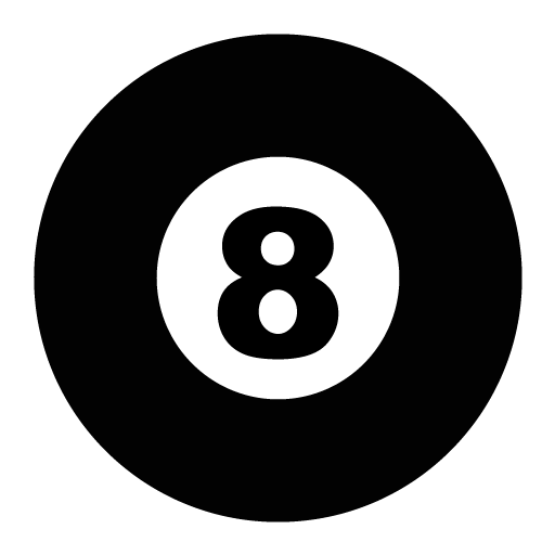 8 ball png. Eight icon free icons