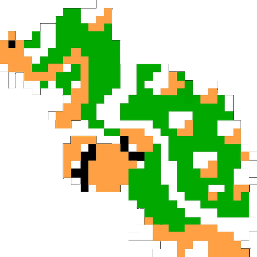8 bit bowser png. Image fighters of lapis