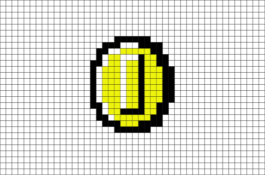 Mario Coin 8 Bit Transparent Png Clipart Free Download Ywd