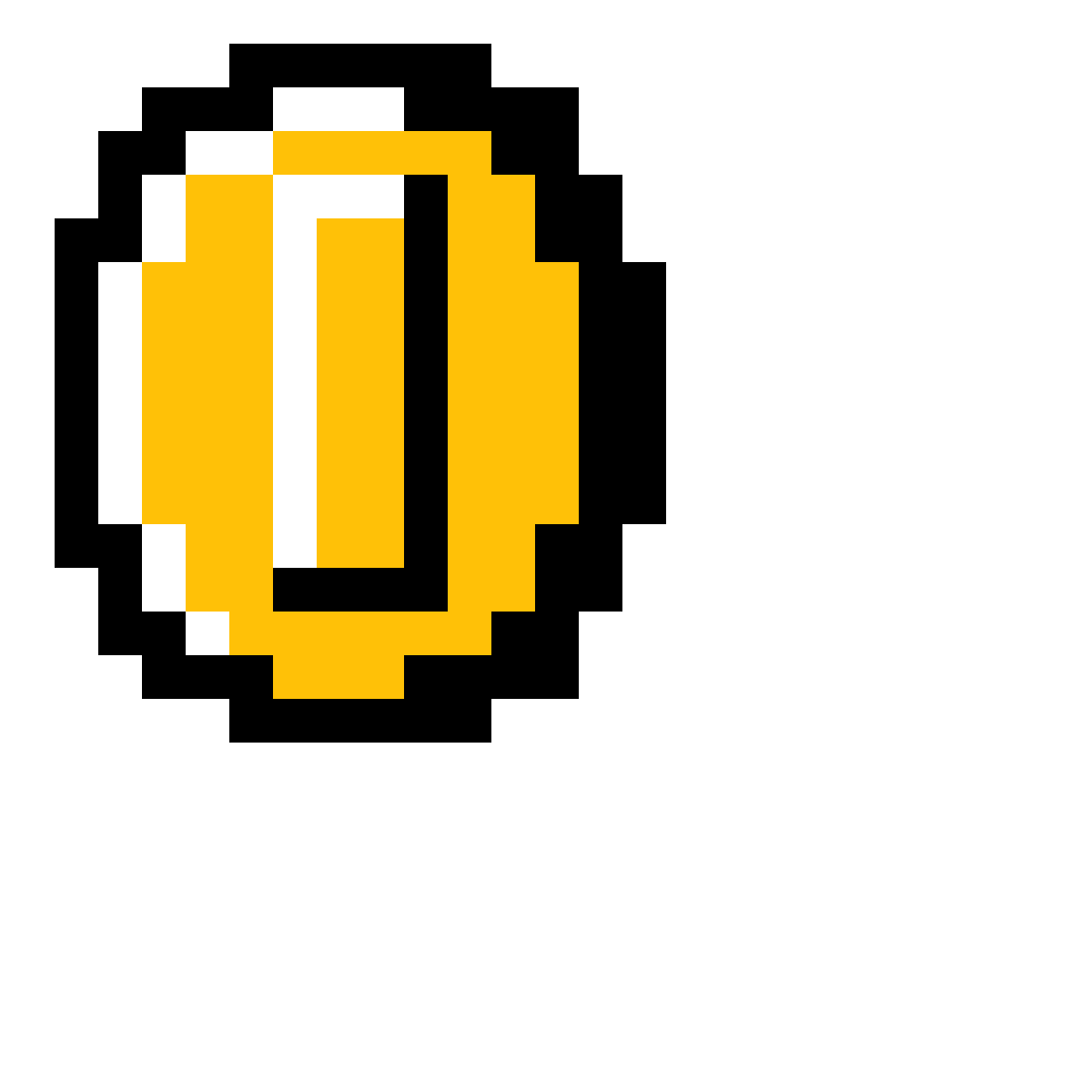 8 bit coin png. Pixilart mario by powerful