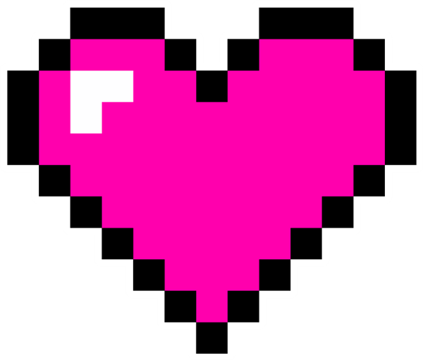 8 bit heart png. Pictures and cliparts