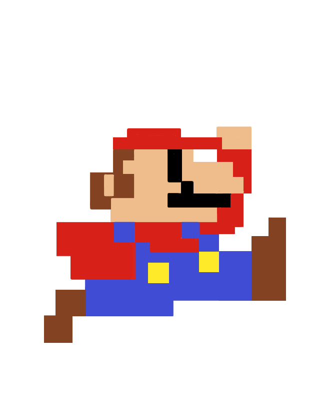 8 bit mario png. Mania from start