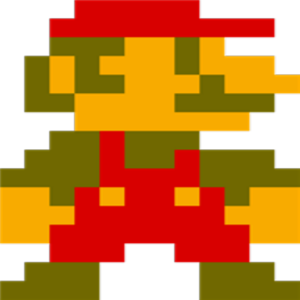 8 bit mario png. Right roblox
