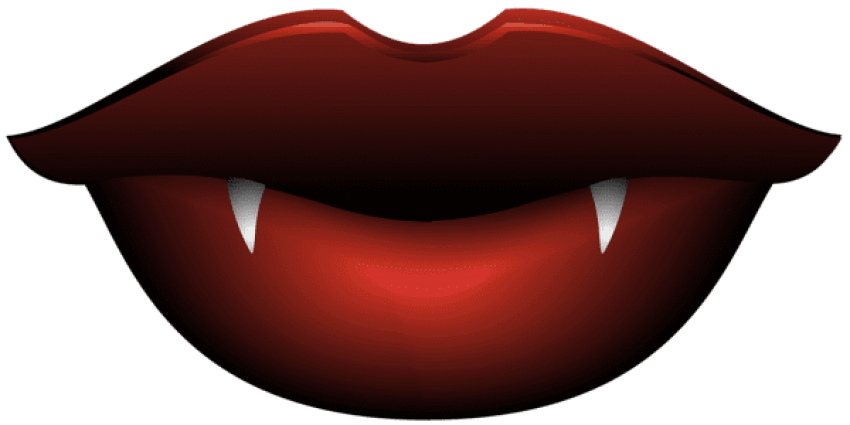 80 clipart lip. Download vampire lips transparent