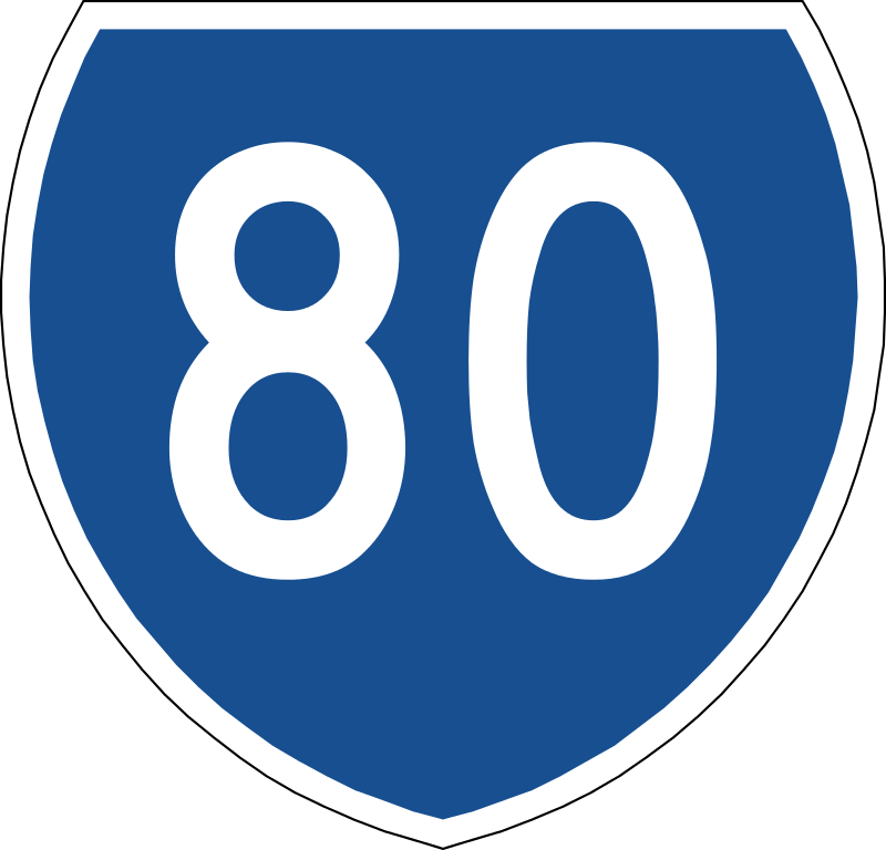 80 clipart number 80. File australian state route