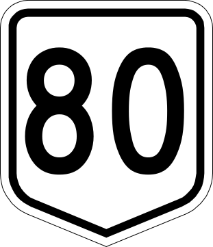 80 clipart number 80. File australian national route