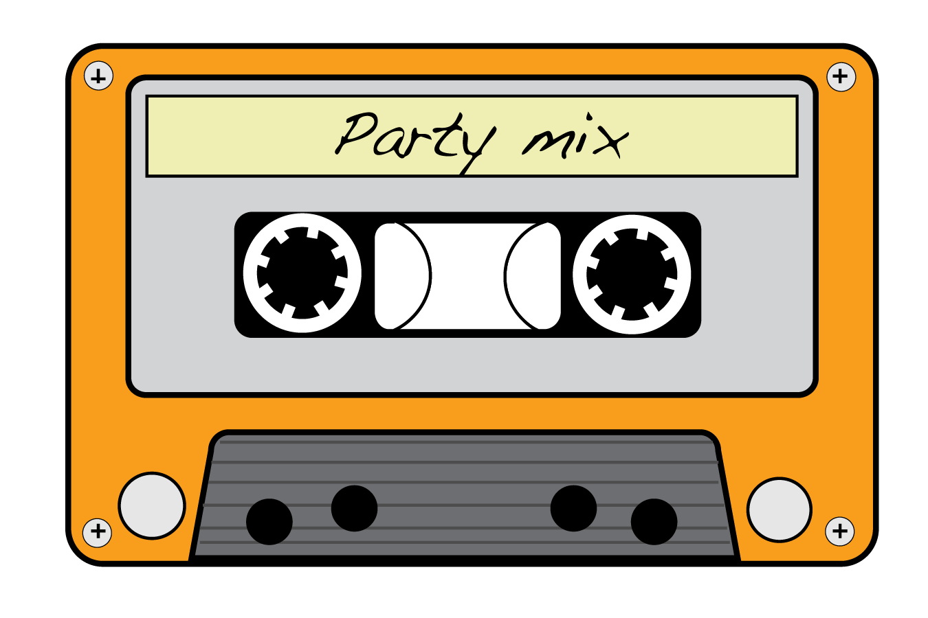 Free music cliparts download. Tape clipart vhs tape vector free download