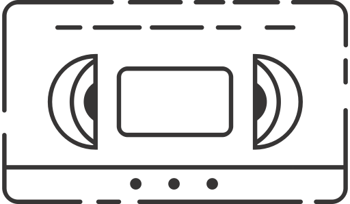 80 clipart video cassette. Beta max vhs icon