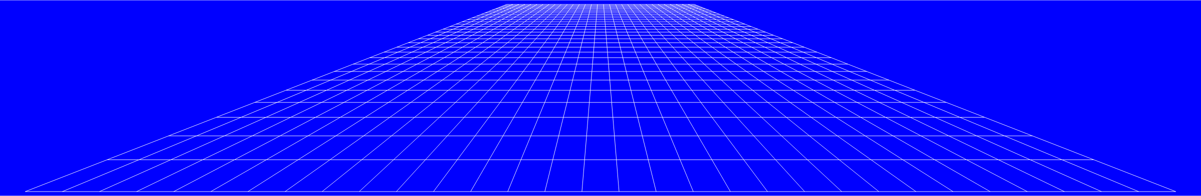 80s grid png. Clipart perspective flat blue