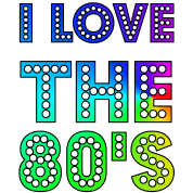 80s transparent happy. I love the s