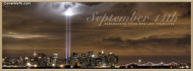 9 11 clipart profile facebook. Remembrance covers fb