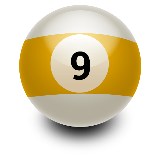 9 ball png. Icon myiconfinder nine