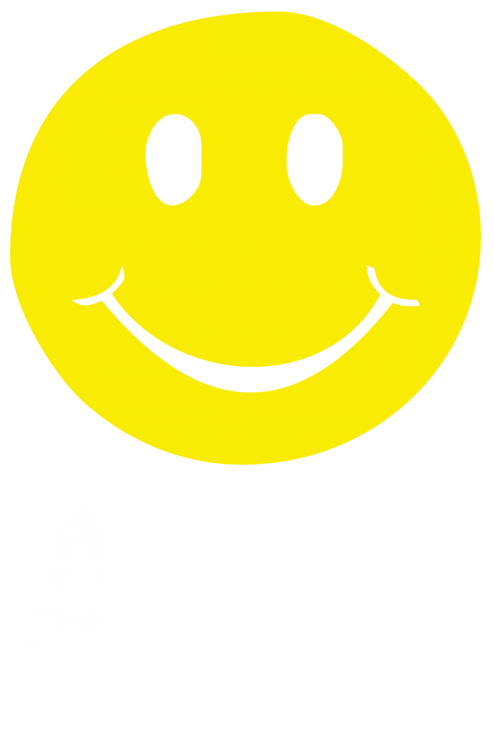 90s rave smiley face png. Custom acid house s