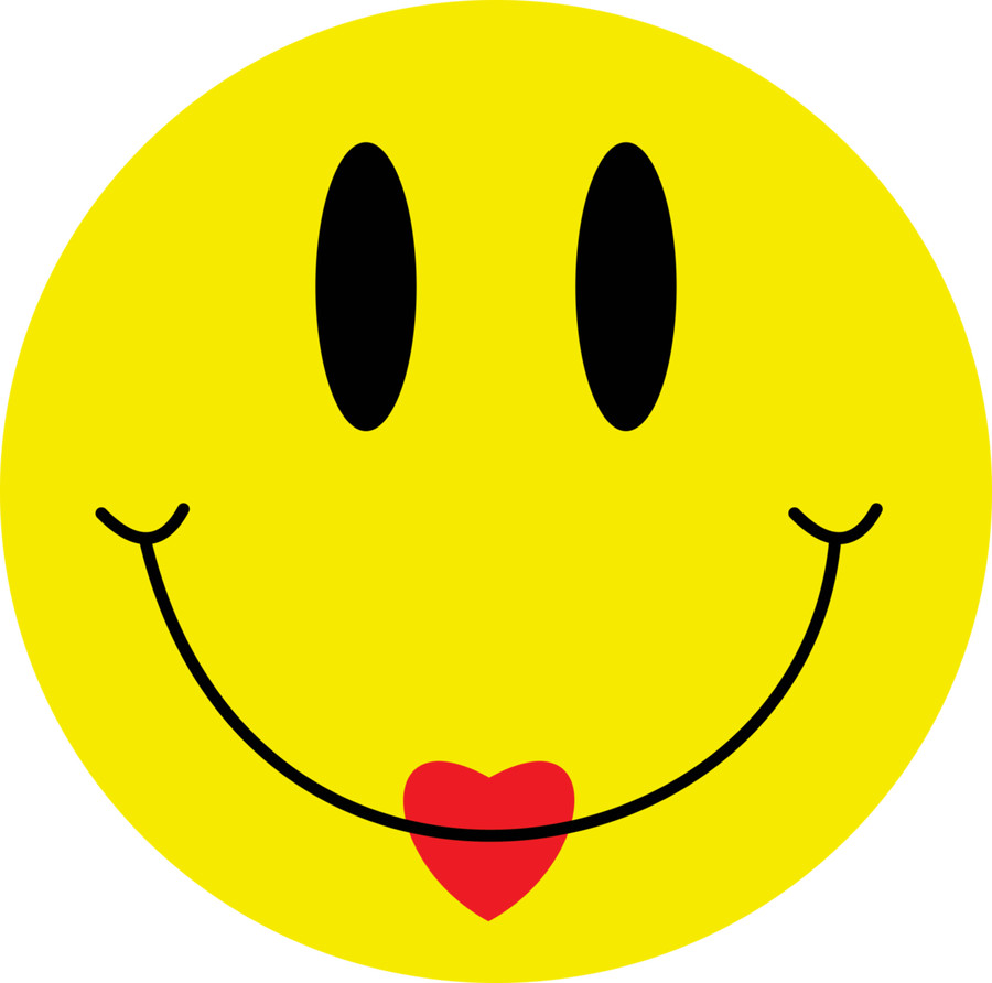 90s rave smiley face png.