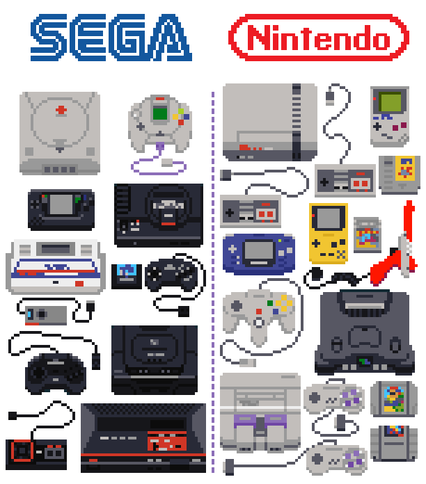 90s transparent gaming. S devices on
