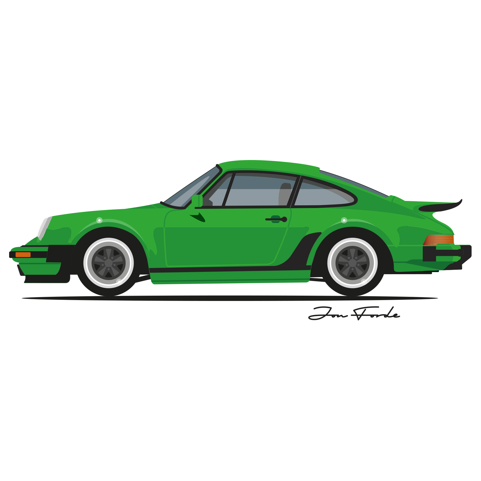 911 drawing artwork. Porsche silhouette at getdrawings