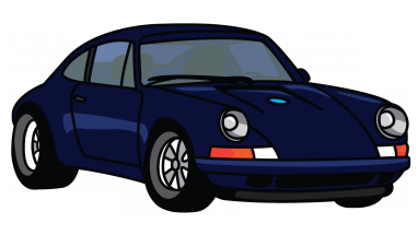 911 drawing easy. How to draw porsche
