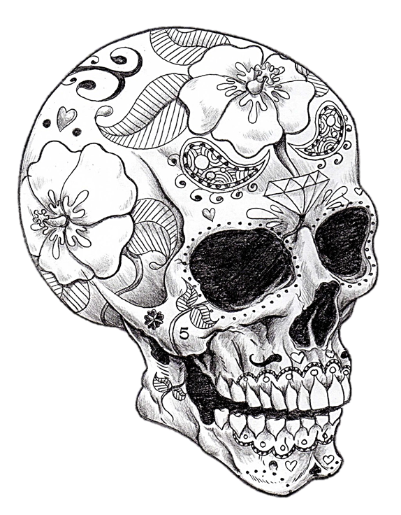 911 drawing human spirit. Cool skull art skeletons