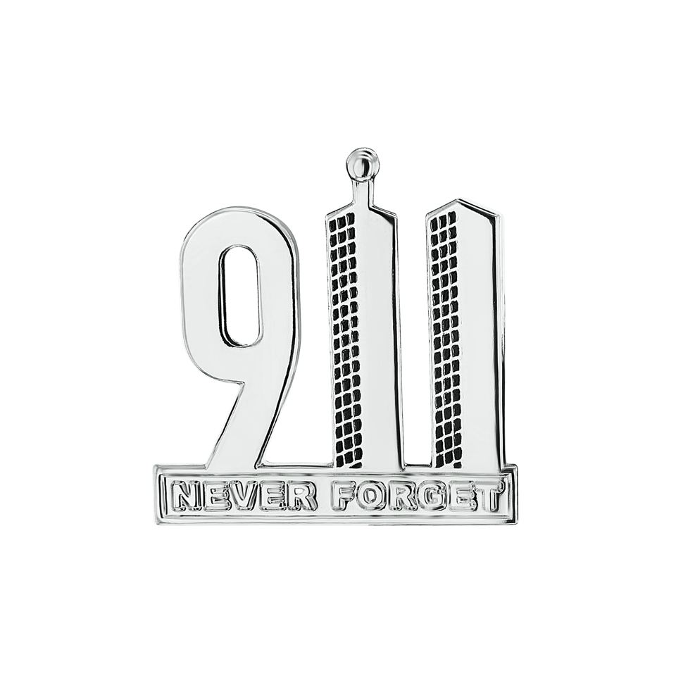 911 drawing never forget. Commemorative pin the garden