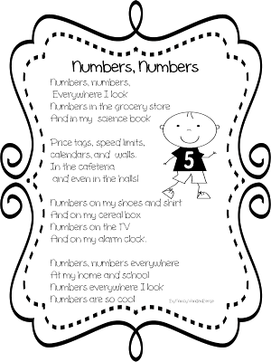 911 drawing poem. Numbers from first grade