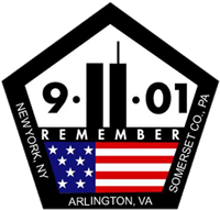 911 drawing remembrance. Memorial in commemoration
