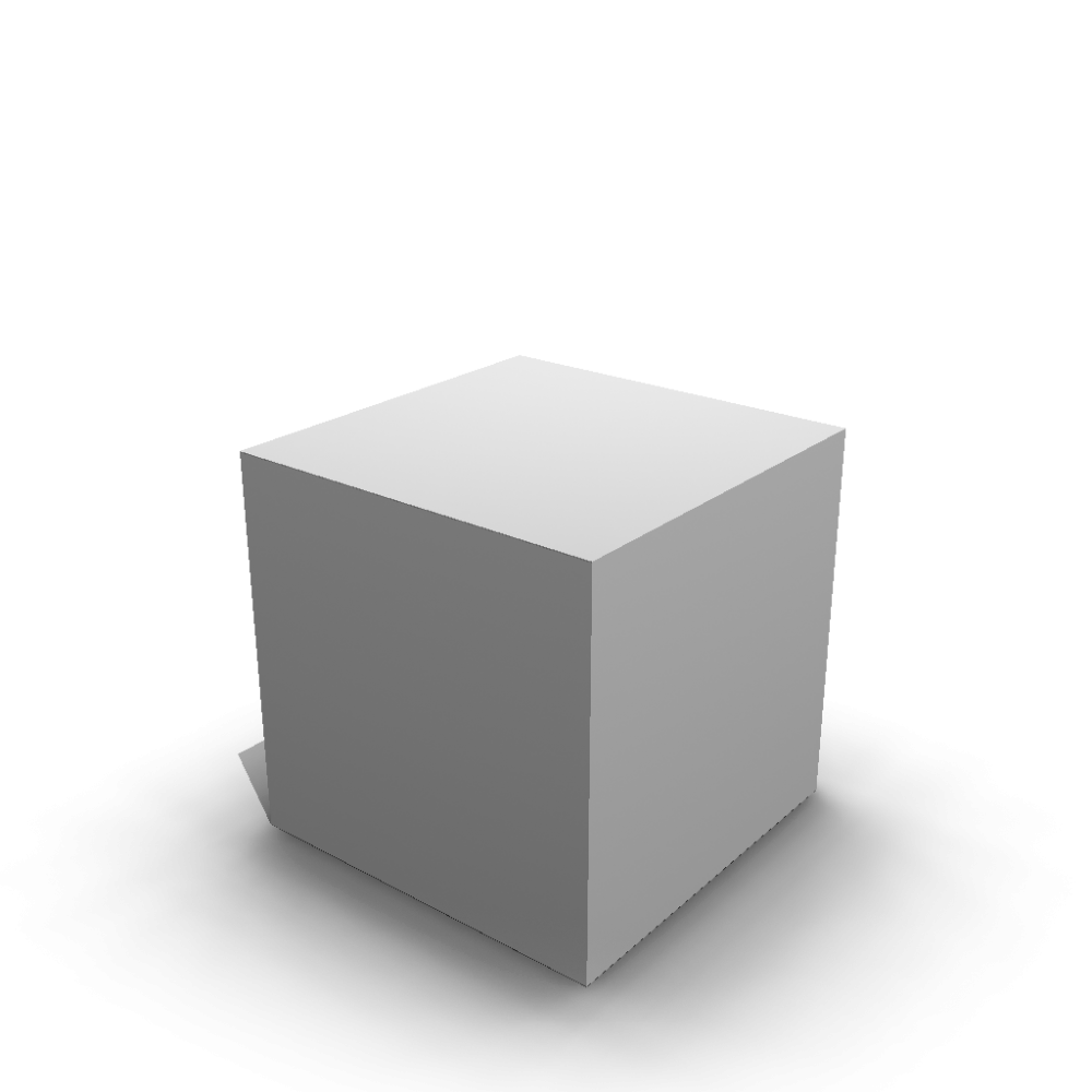 A 3d cube png. Design and decorate your