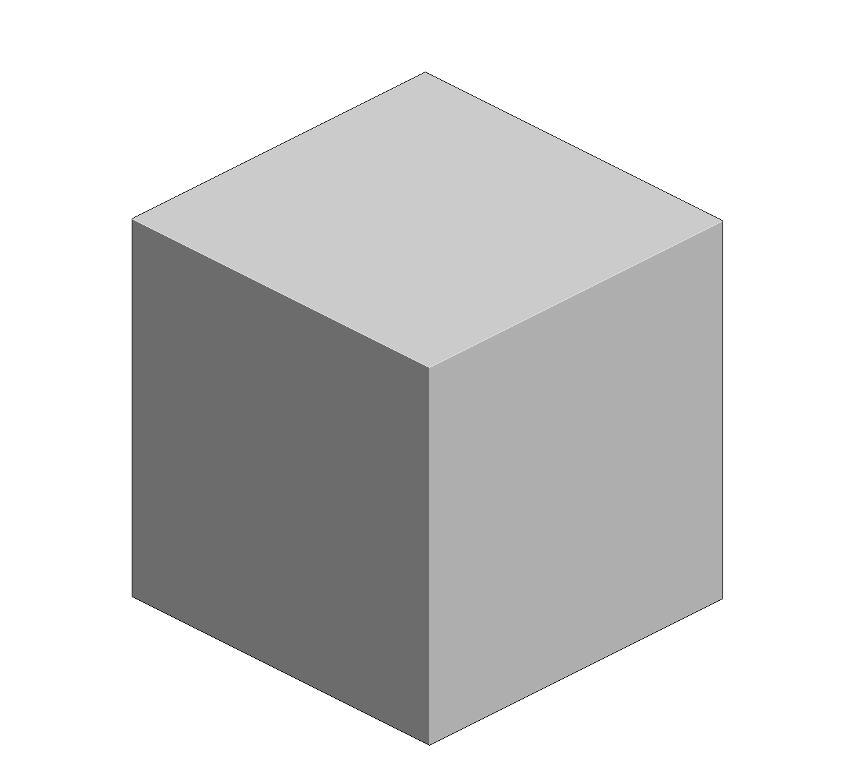 White cube png