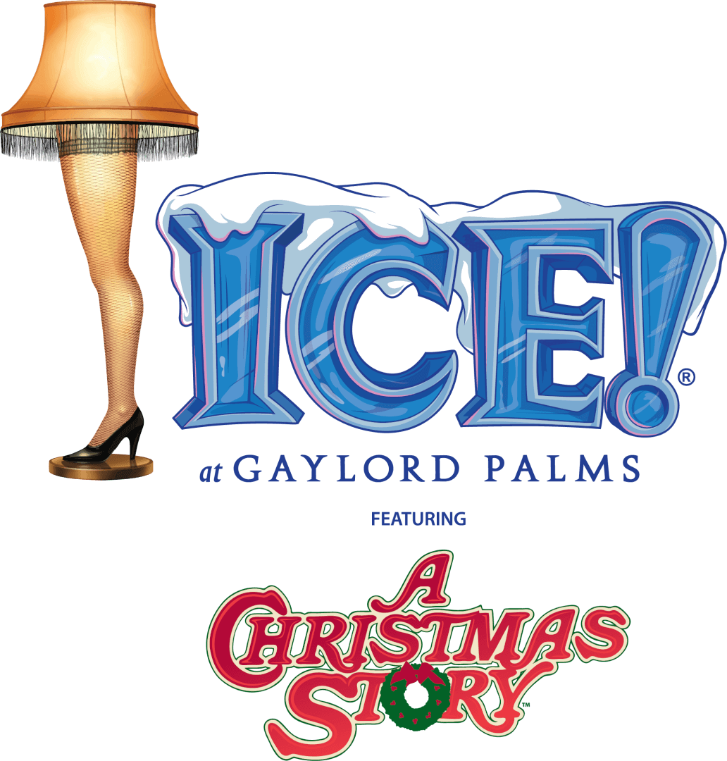 A christmas story logo png. To be featured in