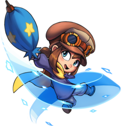 A hat in time png. Wiki hatkid umbrella ppng