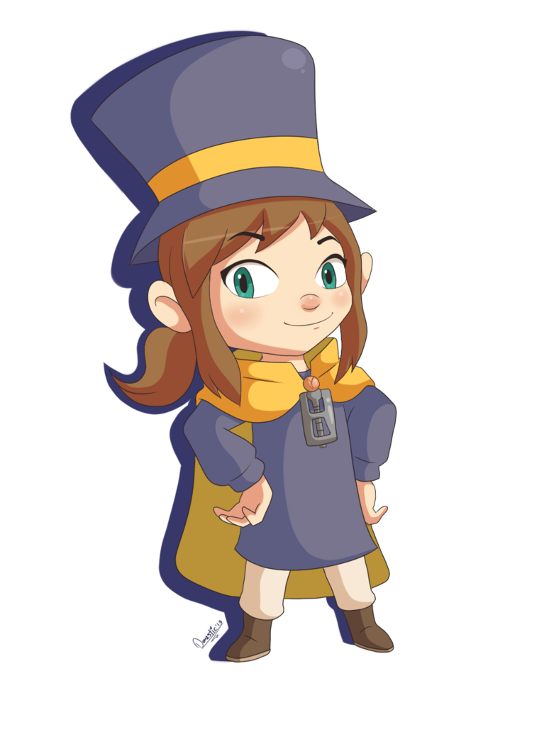A hat in time png. Girl by domestic hedgehog