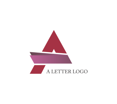 Design download vector logos. A letter logo png svg free stock