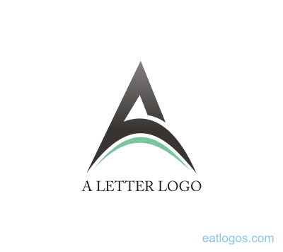 Design download vector logos. A letter logo png graphic free