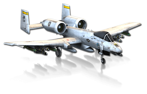 a-10 png old war plane