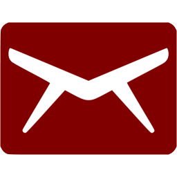 A34 clip maroon. Email icon free icons