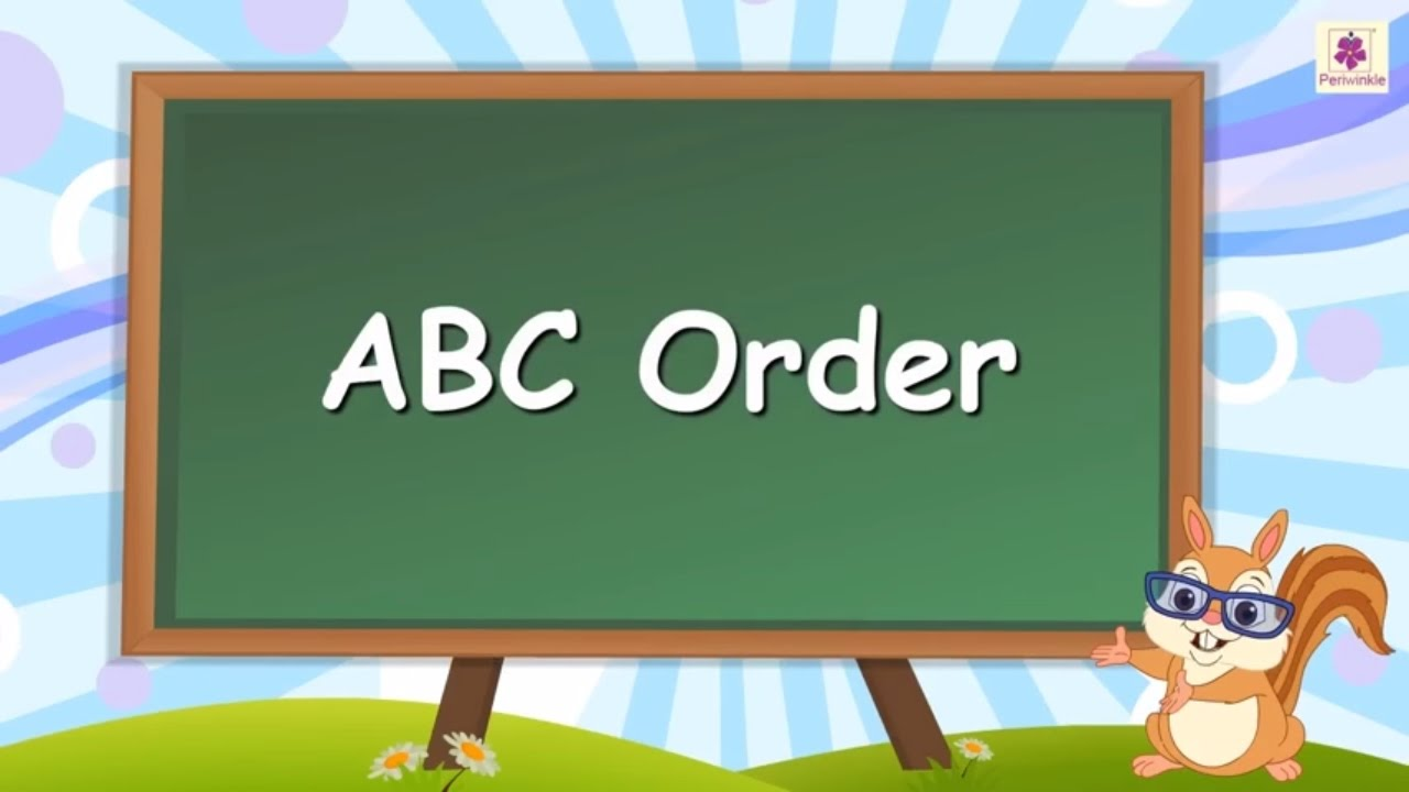 Abc clipart alphabetical order. Learn or for kids