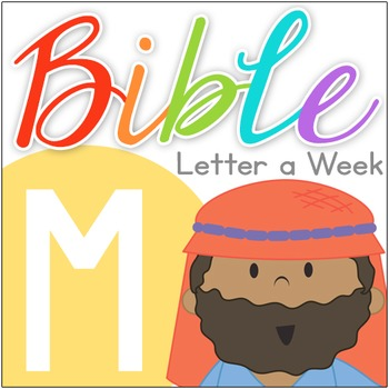 Abc clipart letter week. Bible of the m