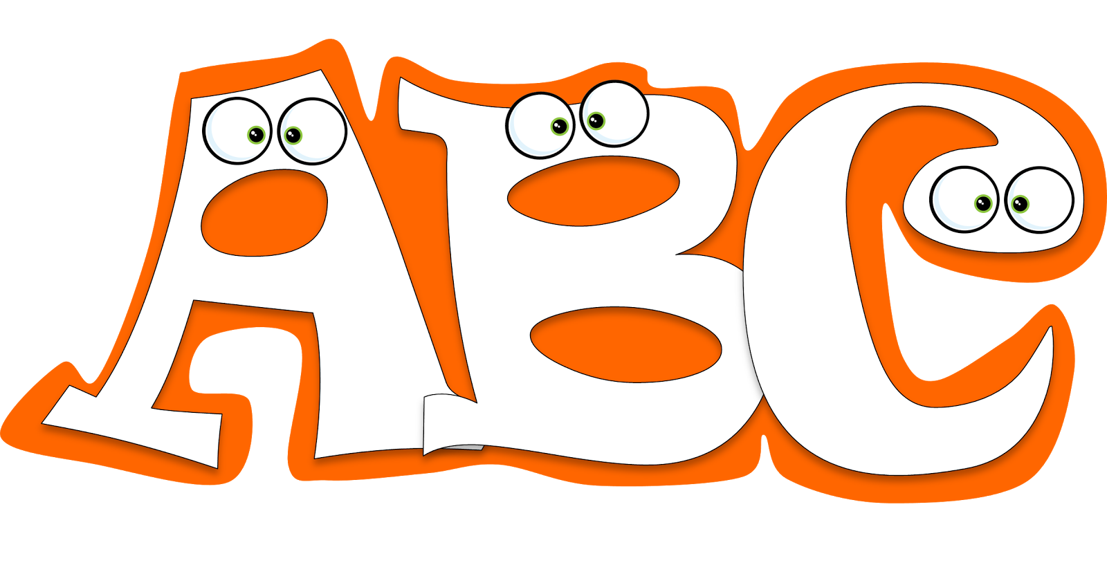 Abc clipart lettersclip. Free alphabet at getdrawings