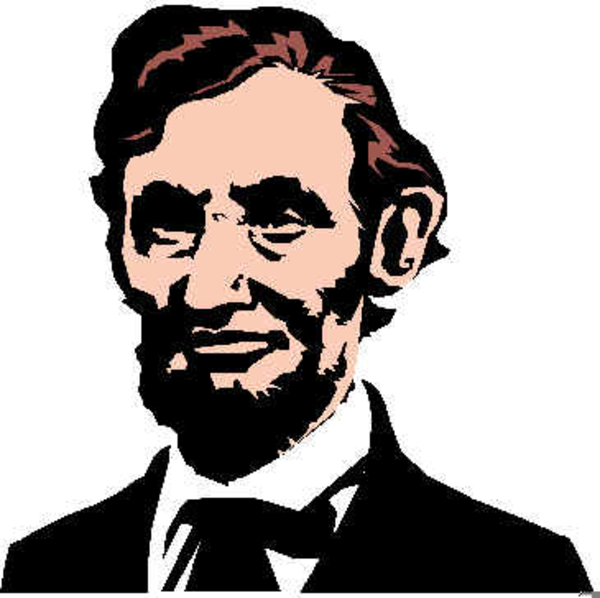 Abraham lincoln clipart public domain. Free abe images at
