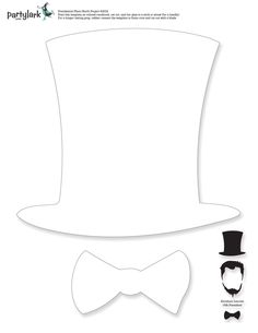 Abraham lincoln clipart template. Hat pattern use the