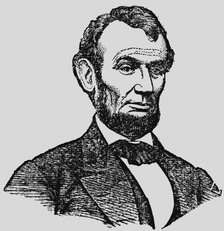 Abraham lincoln clipart template. Collection of clip art