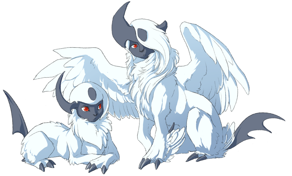 Absol transparent fake. My favorite pokemon are