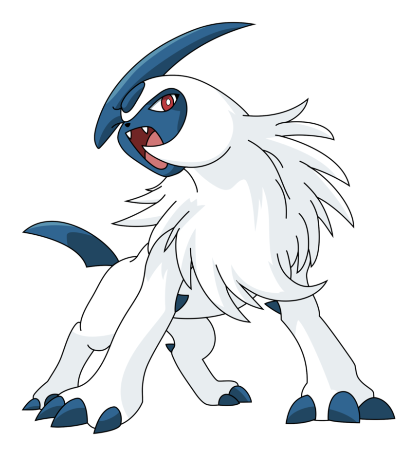 Absol transparent mad. Your favourite pokemon off