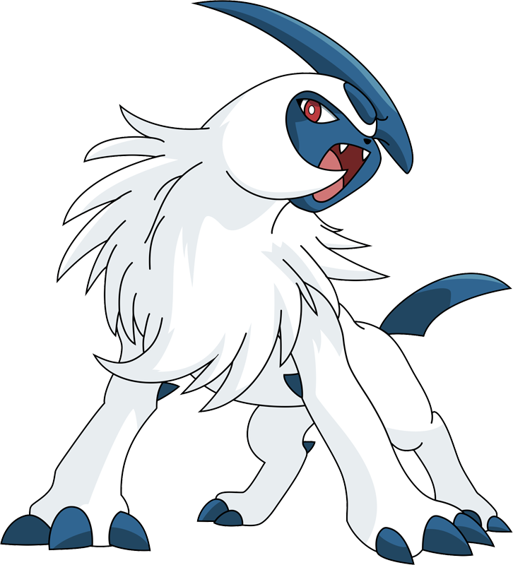 Absol transparent anime. Id pok mon www