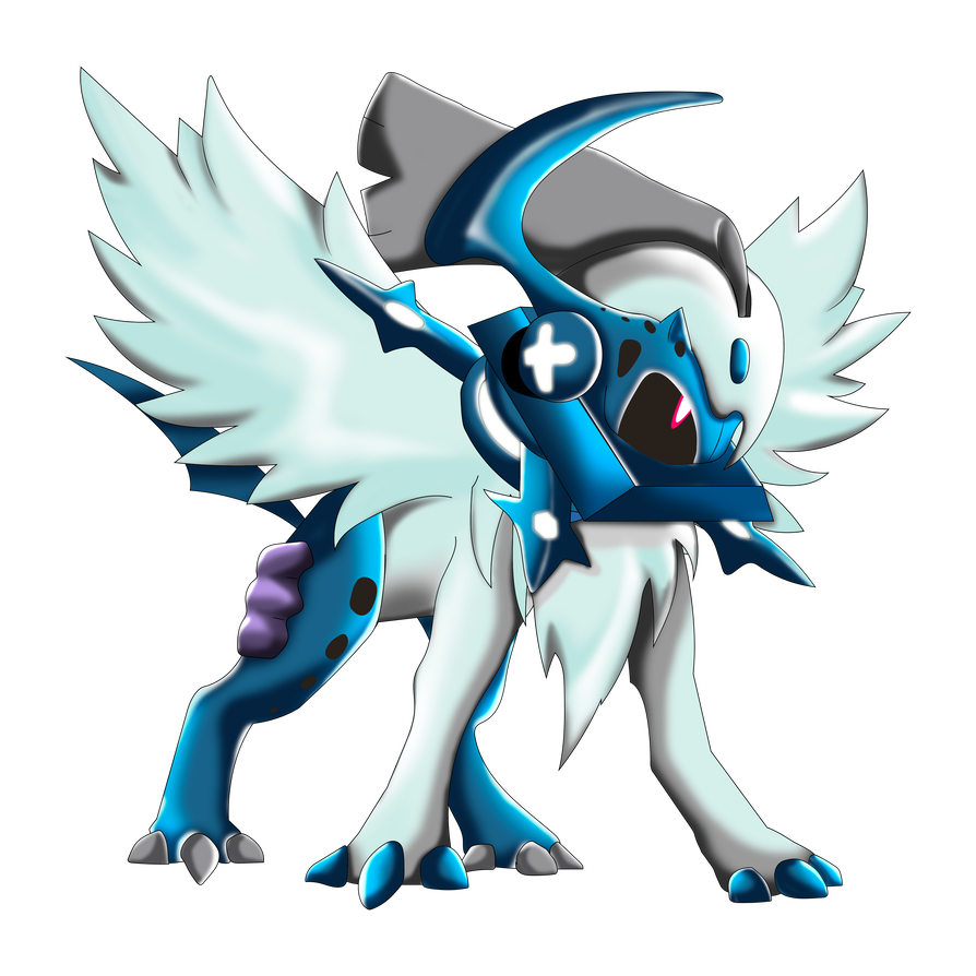 Absol transparent anime. Type null by jordanqv