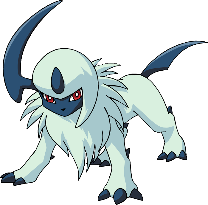 Absol transparent pokemon legendary. Image ag anime png