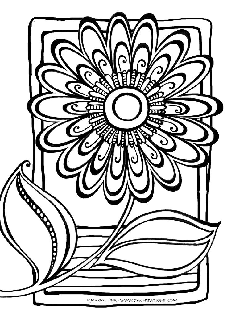 Abstract coloring. Pages free download best